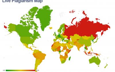 Live Plagiarism Map